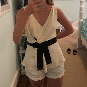Oscar De La Renta white blouse *worn once*